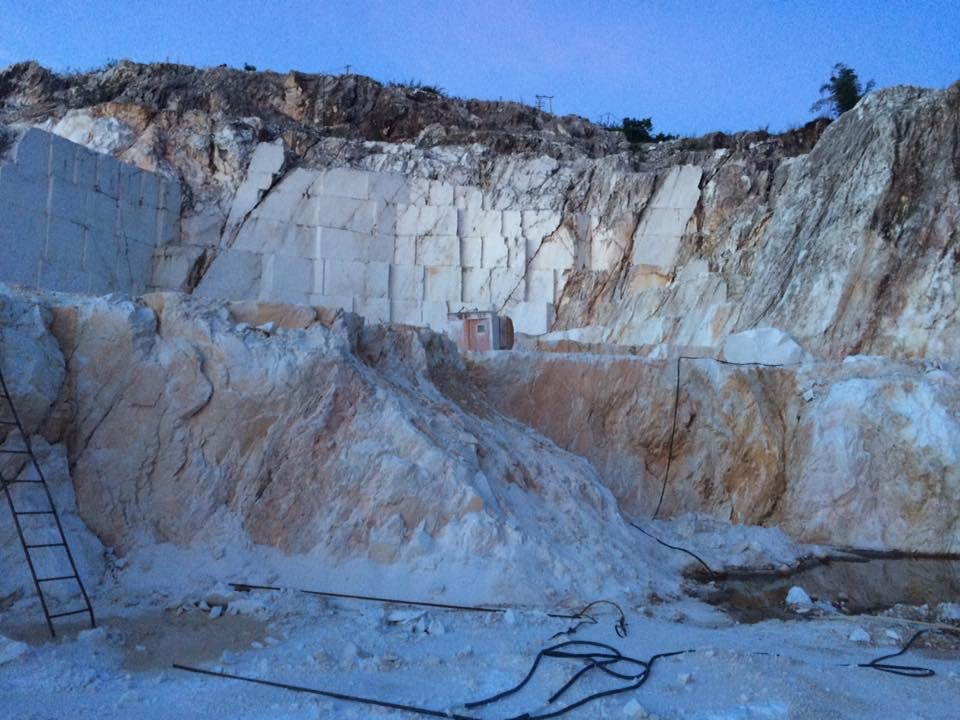 Quarries and Material Field