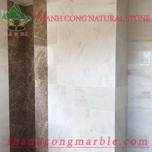 Ivory White Marble Wall Tile 03