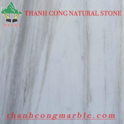 Milky White Marble Flooring Tile 02