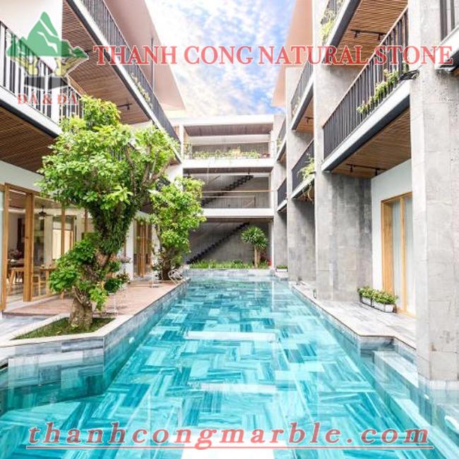 Swimming Pool Bluestone Tile 03
