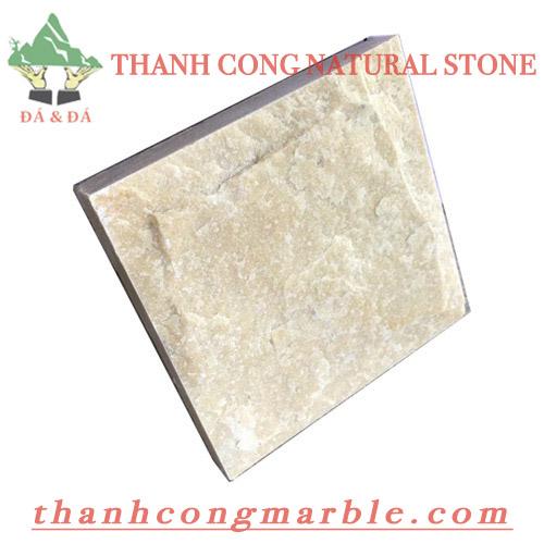 Yellow Marble Mushroom Stone 01